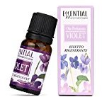 Toraway 10ml Pure & Natural Essential Oils Aromatherapy Scent Skin Care 10ml (Violet)