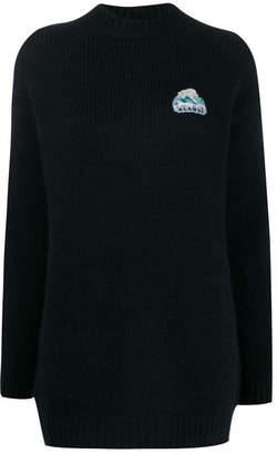 Alanui Global Warming Oversized Sweater