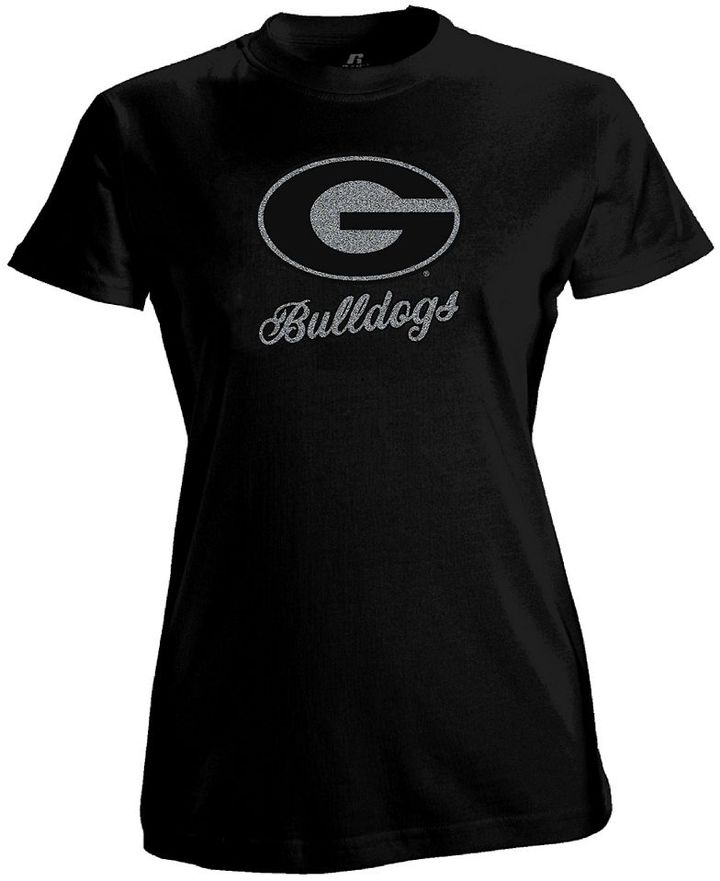 Russell Athletic georgia bulldogs tee - women