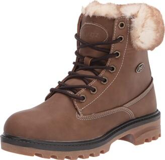 Lugz Women's Empire Hi Fur Classic 6-inch Memory Foam Chukka Fashion Boot Combat