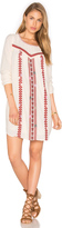 Maison Scotch Embroidered Boho Dress