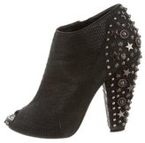 Givenchy Studded Peep-Toe Booties