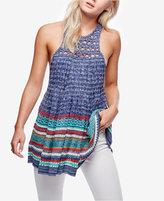 Free People Rare Hearts Striped Knit Tunic