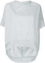 Bassike striped oval top