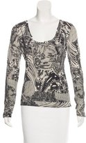 Christian Dior Lace Print Wool-Blend Sweater