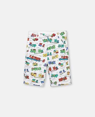 Stella McCartney super dude cotton shorts