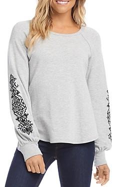 Karen Kane Printed Sleeve Top