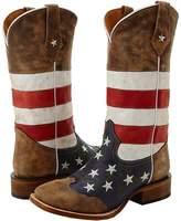 Roper American Flag Square Toe Boot Cowboy Boots