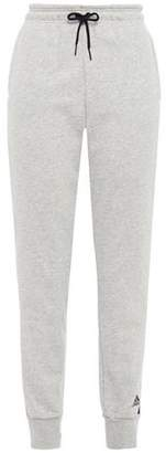 adidas Melange Printed French Cotton-blend Track Pants