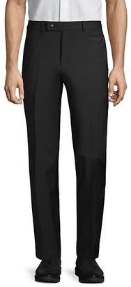 Calvin Klein Standard-Fit Stretch Wool Trousers