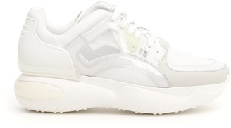 Fendi Platform Sole Sneakers