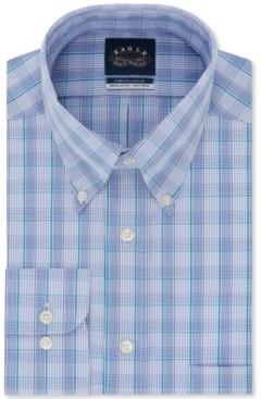 Eagle Men's Classic-Fit Check Dress Shirt
