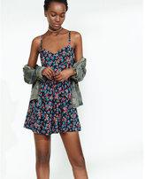 Express floral print sweetheart neckline cami sundress