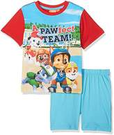 Nickelodeon Boy's Paw Patrol Pawfect Team Pool Clothing set, (Turquoiz), 3-4 Years (Manufacturer Size: 4 Years)