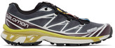 Salomon Grey and Purple Limited Edition XT-6 ADV Sneakers