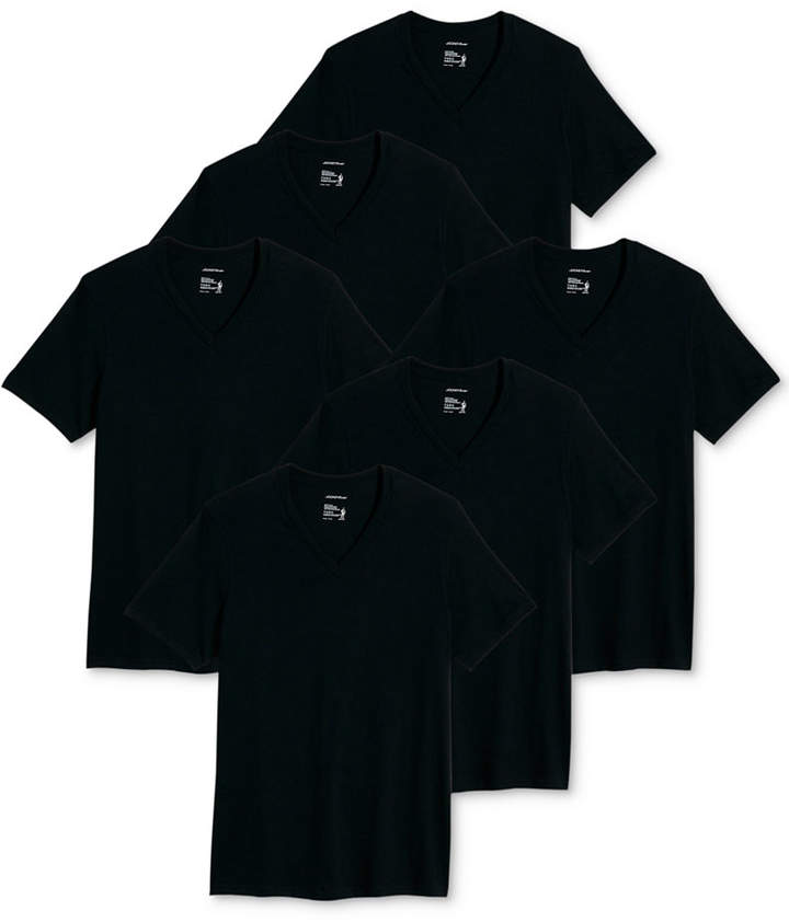 75dd67cff0af Jockey Black Men's undershirts - ShopStyle