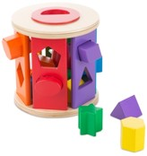 Melissa & Doug Kids' Drum Shape Sorter