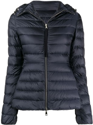 Moncler Zipped Hooded Padded Jacket