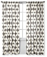 Nobrand No Brand Modern Geo Varick Curtain Panels