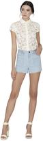 Alice + Olivia Carsen Braided Shorts