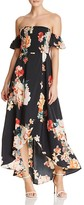 Band of Gypsies Off-the-Shoulder Maxi Dress