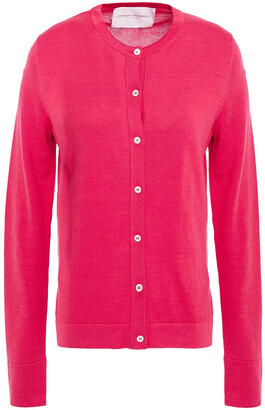 Carolina Herrera Silk And Cotton-blend Cardigan
