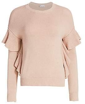 RED Valentino Women's Ruffle Sweater
