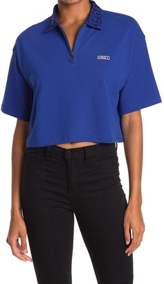 Obey Liana Cropped Polo