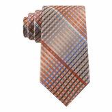 Van Heusen Multi-Line Plaid Silk Tie