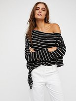 We The Free Striped Love Lane Tee at Free People