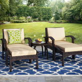 Alcott Hill Springboro 5 Piece Deep Seating Group with Cushions