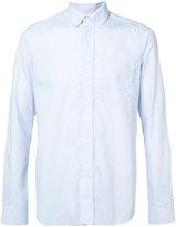 Oamc rear logo print shirt - men - Cotton - XS