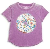 Chaser Toddler's, Little Girl's & Girl's Sprinkle Donut Tee