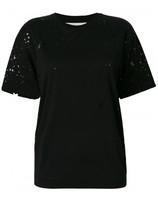 Stella McCartney Black Star Cut-Out T-shirt