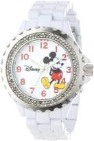 EWatchFactory Disney Women's W000499 Mickey Mouse Enamel Sparkle Bracelet Watch