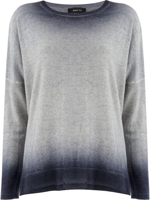 Avant Toi bleached effect sweater