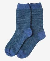 Toast Jacquard Socks
