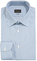 Ermenegildo Zegna Men's 100fili Large Stripes Dress Shirt