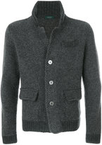 Zanone blazer cardigan - men - Alpaca/Virgin Wool - 48