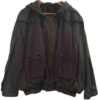 Kokon To Zai Blue Cotton Jackets