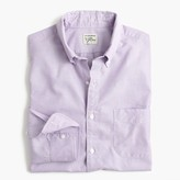 J.Crew Tall Secret Wash shirt in purple end-on-end cotton
