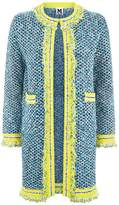 M Missoni Contrast Trim Coat