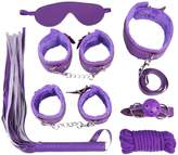 HenMerry 7 Pieces Se x Games Couples Toy Bedroom Bondage Adult whip Set