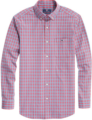Vineyard Vines Tucker Masthead Classic Fit Plaid Button-Down Shirt