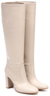 Gianvito Rossi Glen leather knee-high boots