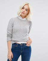 Jack Wills Tinsbury Cable Crew Neck Jumper