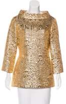MICHAEL Michael Kors Wool Brocade Tunic