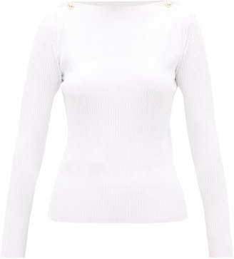 Max Mara Odino Sweater - White