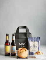 Marks And Spencer Valentines Beer & Pie Gift (pre Order: Available From 10th February 2017)