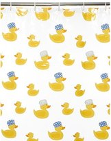 George Home Rubber Ducks Shower Curtain